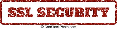 SSL Security Rubber Stamp