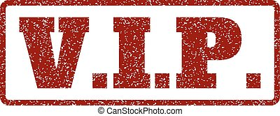 V.I.P. Rubber Stamp