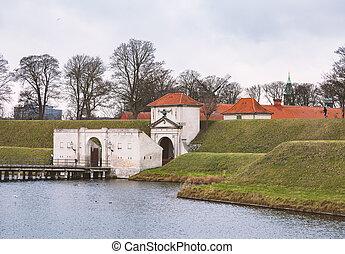 Citadell in Copenhagen Denmark - Copenhagen citadell of...