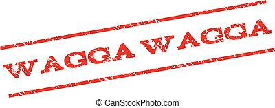 Wagga Wagga Watermark Stamp - Wagga watermark stamp. Text...