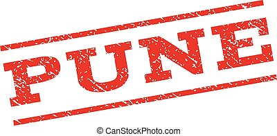 Pune Watermark Stamp - Pune watermark stamp. Text tag...