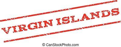 Virgin Islands Watermark Stamp - Virgin Islands watermark...
