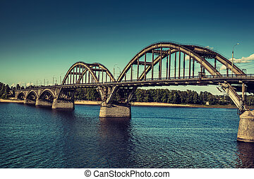 Bridge over big river