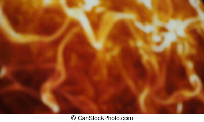 Fire background orange