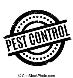 Pest Control rubber stamp