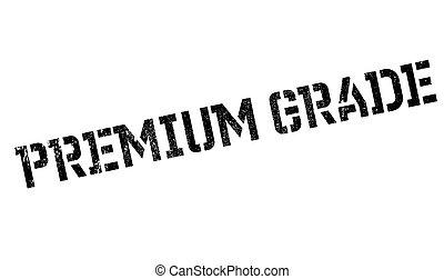 Premium Grade rubber stamp. Grunge design with dust...