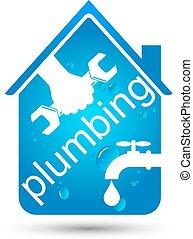 Plumbing home repair design - Plumbing repair the house, a...