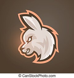 Vector illustration of alpaca. Sport mascot. - Vector...