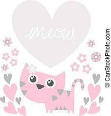 cute love cat