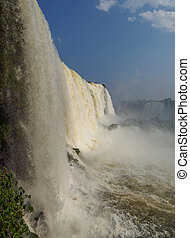 Iguacu Falls in Brazil - Brazil, State of Parana, Foz do...