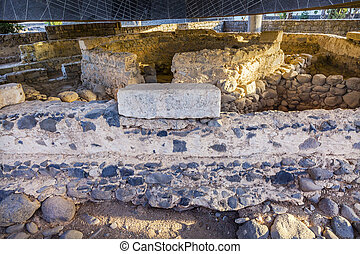 Peter's House Most Authentic Christian Site Capernaum Israel...