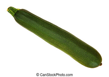 Courgette - A courgette isolated on white