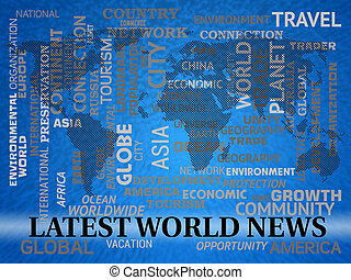 Latest World News Shows Recent International Headlines -...