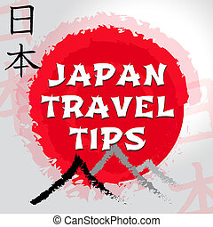 Japan Travel Tips Shows Japanese Guide And Tours