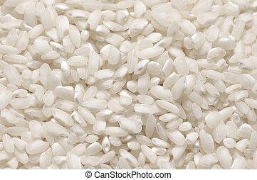 Pile of glutinous rice - Heap of white glutinous rice...