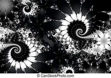 Fabulous black-white background. You can use it for...