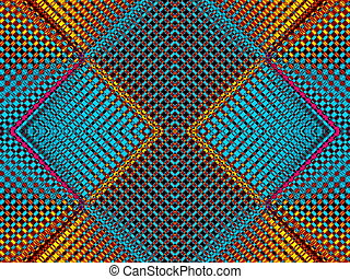 Geometrical background. Collection - cells. Artwork for...