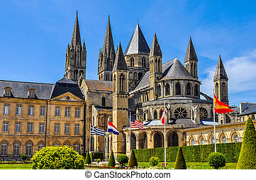 HDR Caen Town Hall - High dynamic range (HDR) City hall and...