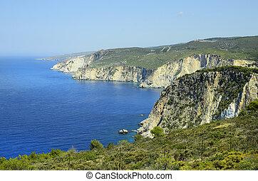 Greece, Zakynthos, coast around Keri