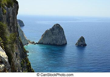 Greece, Zakynthos, Fraglioni Island