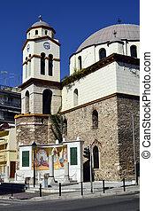 Greece, Kavala, orthodox church Agios Nikolaos