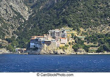 Greece, Mount Athos, Monastery Agios Pavlou