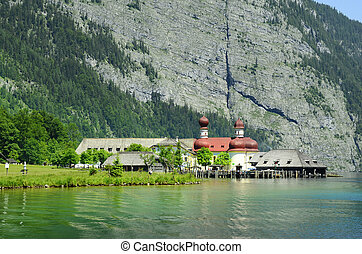 Germany, Bavaria - Germany, Koenigssee, St. Bartholomew