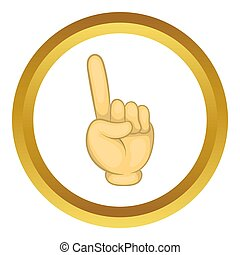 Gesture thumb up  icon