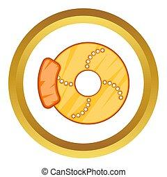 Brake disk  icon