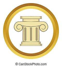Roman column  icon