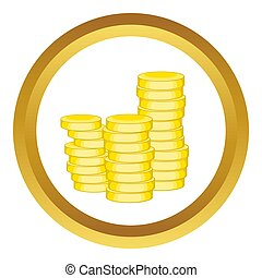 Gold coins  icon