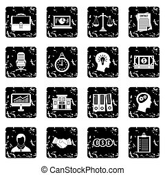 Banking icons set, simple style - Banking icons set icons in...