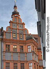 Historic building in Goerlitz, Saxony, Germany