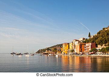 Villefranche-sur-Mer, Cote d'Azur, France -...