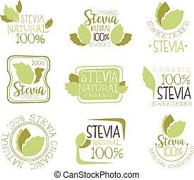 Stevia Natural Food Sweetener Additive And Sugar Substitute...