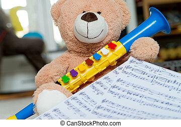 skola, musik