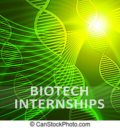 Biotech Internship Meaning Biotechnology Training 3d...