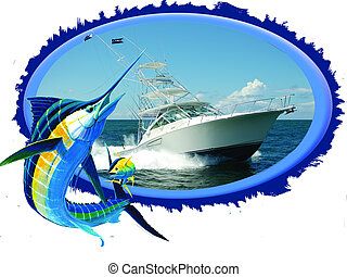 Offshore sport fish - High performance 30 foot offshore...