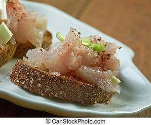 pescado blanco, salado, finlandés