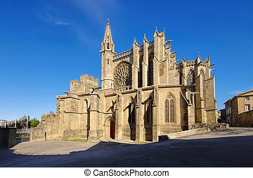Church of Carcassonne, France - Church of Carcassonne, in...