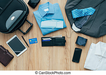 How to pack for a business trip: all items that needs to be...