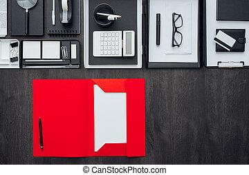 Corporate business desktop
