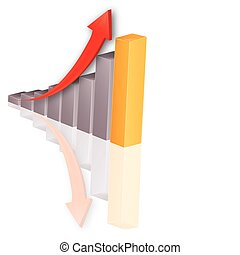 Stock chart - growth