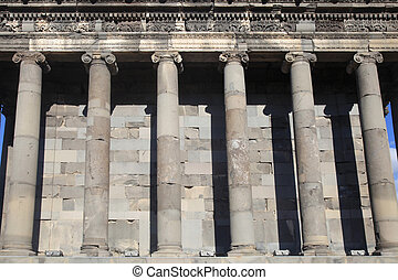 Detail of Ancient Roman Columns, Armenia - Detail of Ancient...