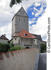 Old Tower - Historic Rothenburg tower in Dinkelsbhl...