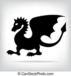 Vector dragon for your design.