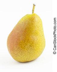 Freshness pear on white