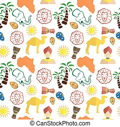 the africa background - the background in the style of a...