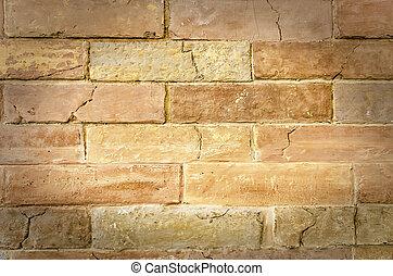 Old brickwork.
