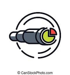 market prediction icon color